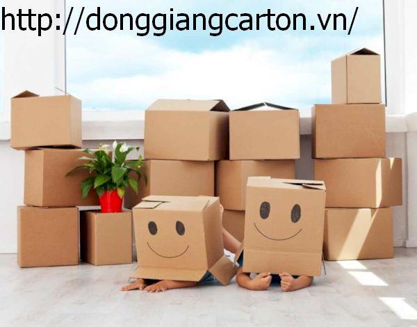 Thùng carton có thể đựng nhiều loại hàng hóa